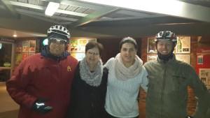 Nico, Annemarie, Natasha, Eugene. Valerida took the picture.